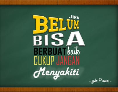 Motivation Typography