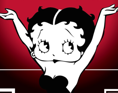 Betty Boop DVD Cover Mockup