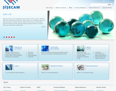 Şişcam website