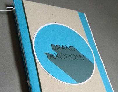 Brand Taxonomy - Process Book