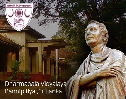 Dharmapala Vidyalaya, Sri Lanka Responsive  Web Design