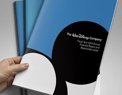 Walt Disney Annual Report Redesign