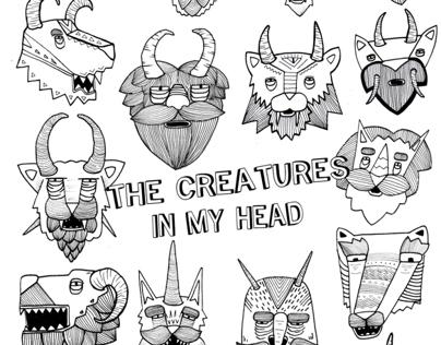 creatures in my head