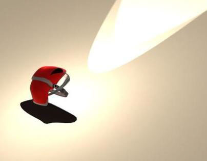 Illuminating protector-Helmet