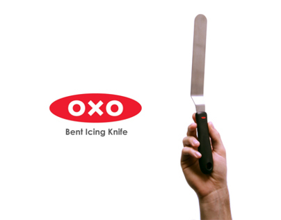 New OXO Bent Icing Knife