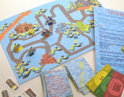 Tiffin Rush - Board Game