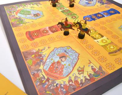 War of Succession - A reimagined Ludo board