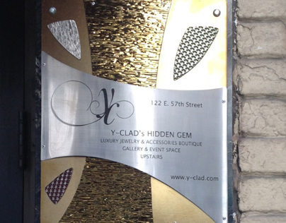 Sculpture Sign, Commercial Way-finding
