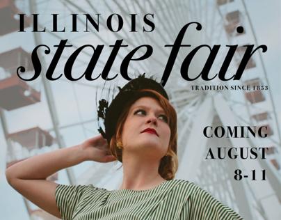 Poster Design-1950's State Fair