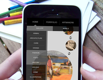 Mobile App Design-Make & Take
