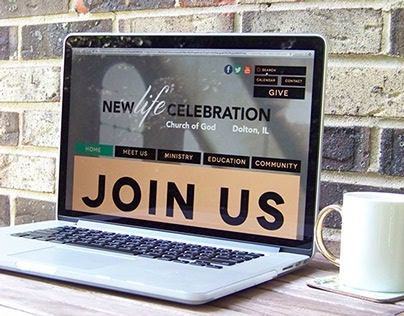 Website Redesign-New Life Celebration Church