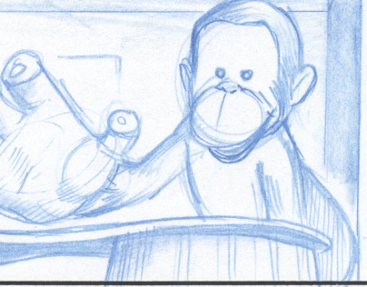Storyboards - Curious George