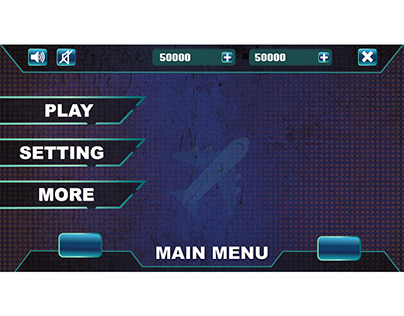airplane game ui