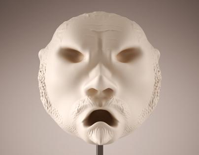 Character Head Sculpt / 2013