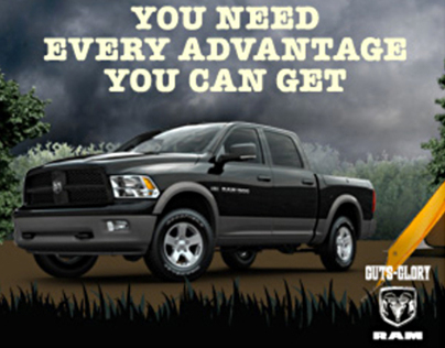 The Ram Outdoorsman Online Ad.
