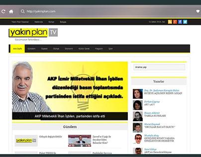YakınPlan TV Web Sitesi