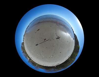 Relaxing planet -- 360 Nature video