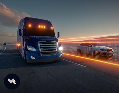 Daimler Immersive Safety Showcase VR / AR