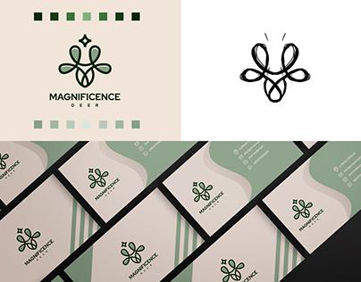 Magnificence Deer Logo