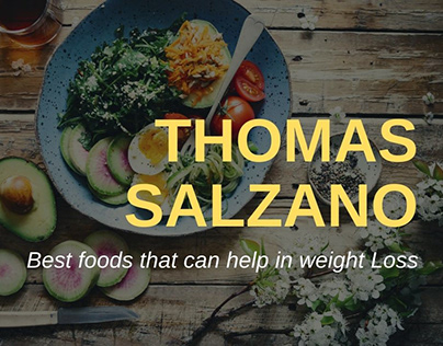 Thomas Salzano -Best foods that can help in weight Loss