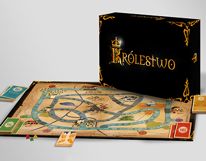 "Board game for kids ""Królestwo"""