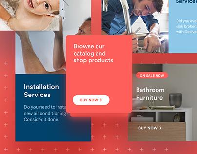 Desivero - UI / Ix Design