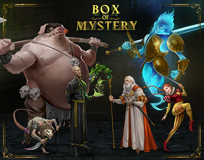 Lightbox Expo: Box of Mystery - Character Design -