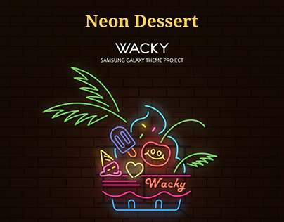 Theme01 - Colorful_Neon_Dessert