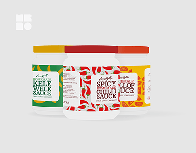 Product Branding for AnneBetty's Sauces