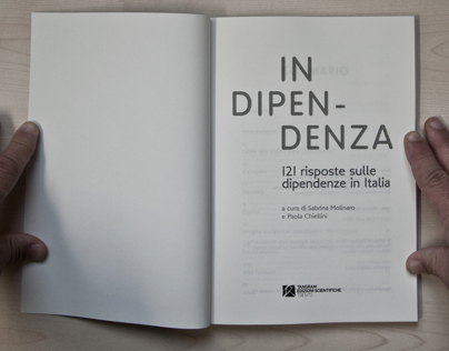 In Dipendenza, graphic project for drugs report by IFC