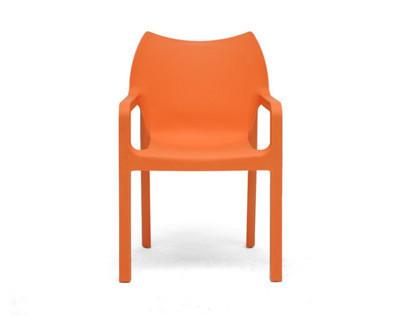 On- en offline Brand Identity Basic Orange: