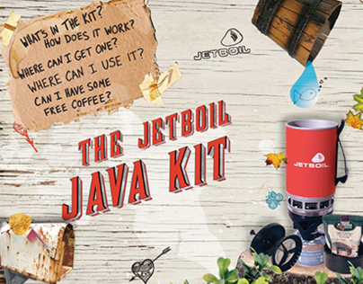 Jetboil Java Kit Microsite