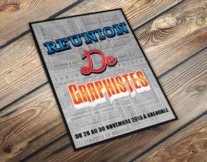 Flyer - Reunion De Graphistes
