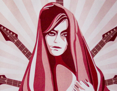 La Sola Presencia - Rock Night & Poster Design