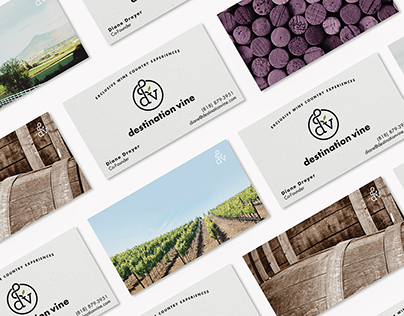 Destination Vine / Branding + Web