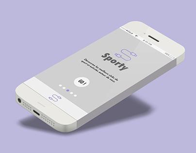 Sporty Mobile App