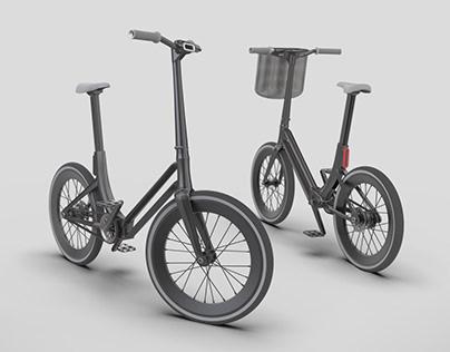 Concept of an Urban Folding Bike