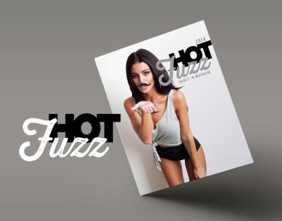HOT FUZZ Babes in Mustache Calendar