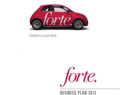 Forte, Fashion on your time.