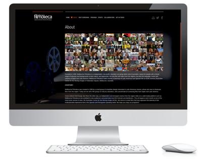 Melbourne Filmoteca Website