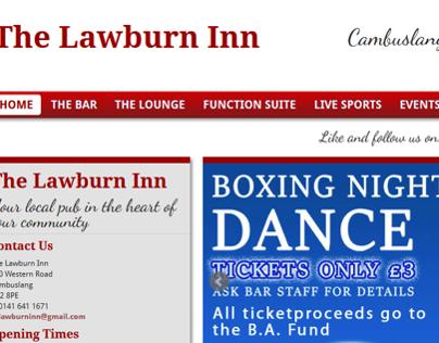 The Lawburn Inn website project