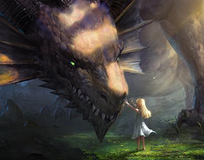 Dragon Raja2 cutscene