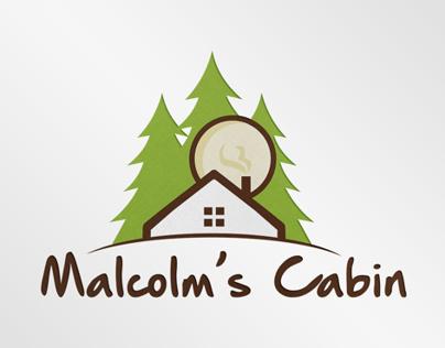 Logo Design for Malcolm's Cabin
