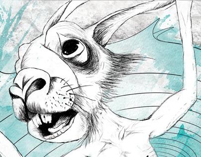 Rabbit - Worm - Pig (Illustration Project)
