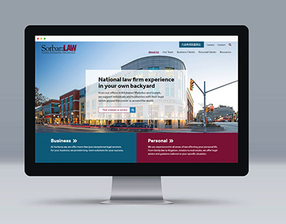 Sorbara Law: Website