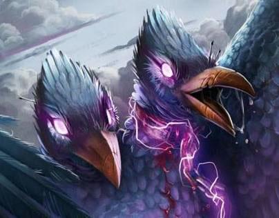 Le corbeau à deux têtes