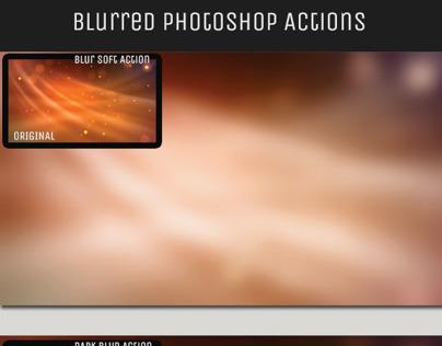 Blur Background Action Set V1