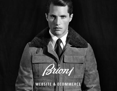 Brioni website / e-commerce