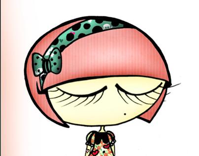 Ilustraciones - Serie Muñequitas