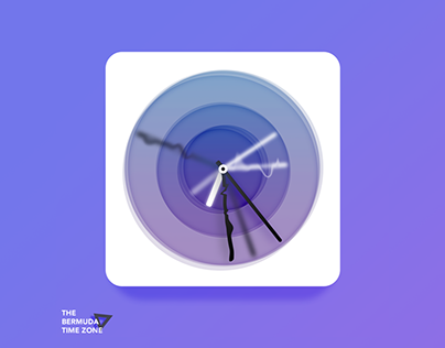Bermuda △ Time Zone app icon (for fun)